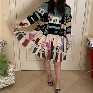 Valentino Print Dress